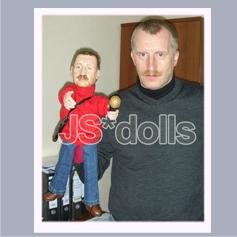 авторская кукла с портретным сходством для кукольного театра